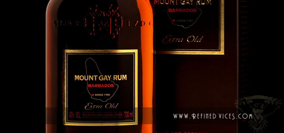 Mount Gay Extra Old Packaging