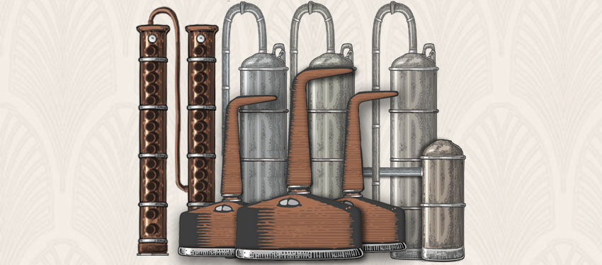Different Distillation Equipment