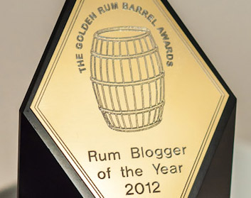 Golden Rum Barrel Award