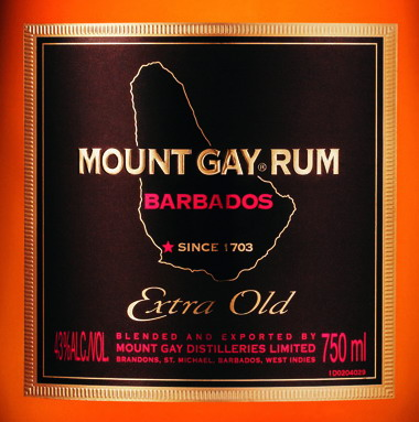 Mount Gay Extra Old New Label