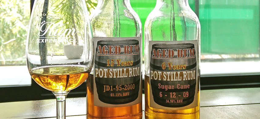 St. Lucia Distillers Rum Samples